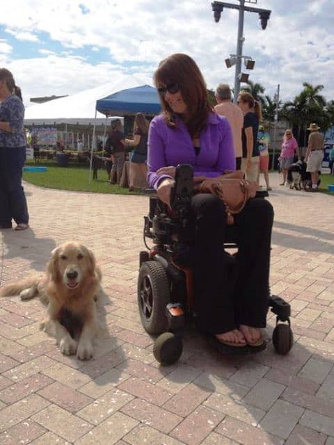 Janice and Mysti at Paws in the Park